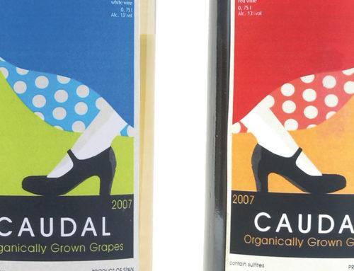 Etiqueta para vino ecológico