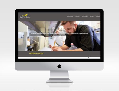 Web para empresa de innovación gastronómica