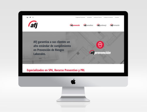 Web para Empresa PRL
